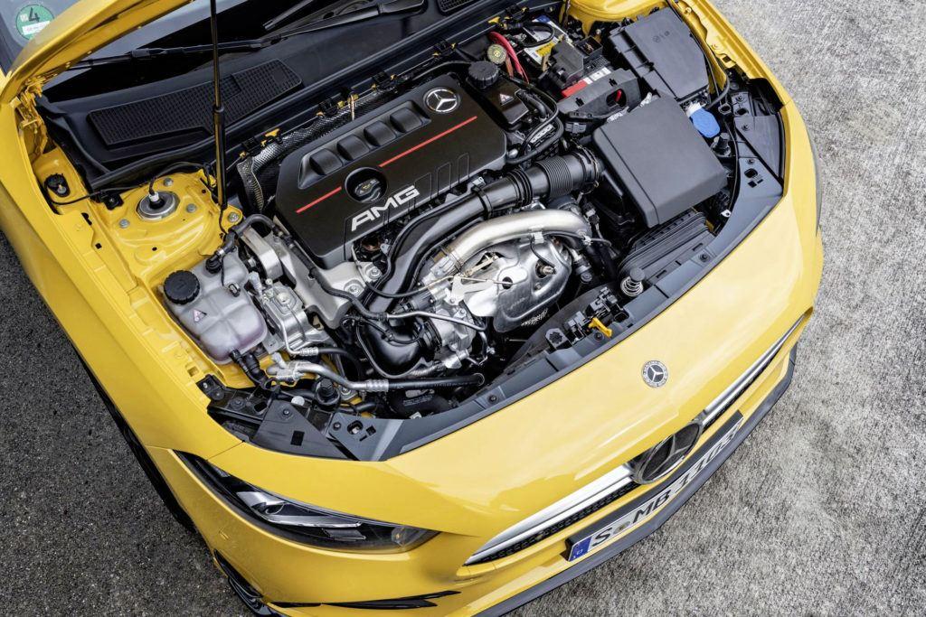 Mercedes-AMG A 35 - silnik