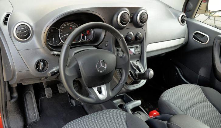 Mercedes Citan - deska rozdzielcza