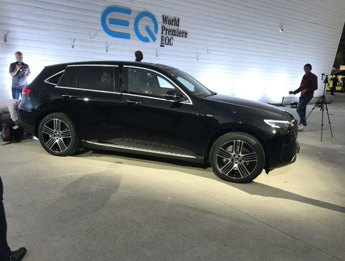 Mercedes EQC - debiut