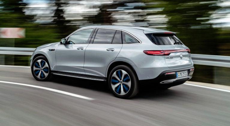 Mercedes EQC - dynamiczne