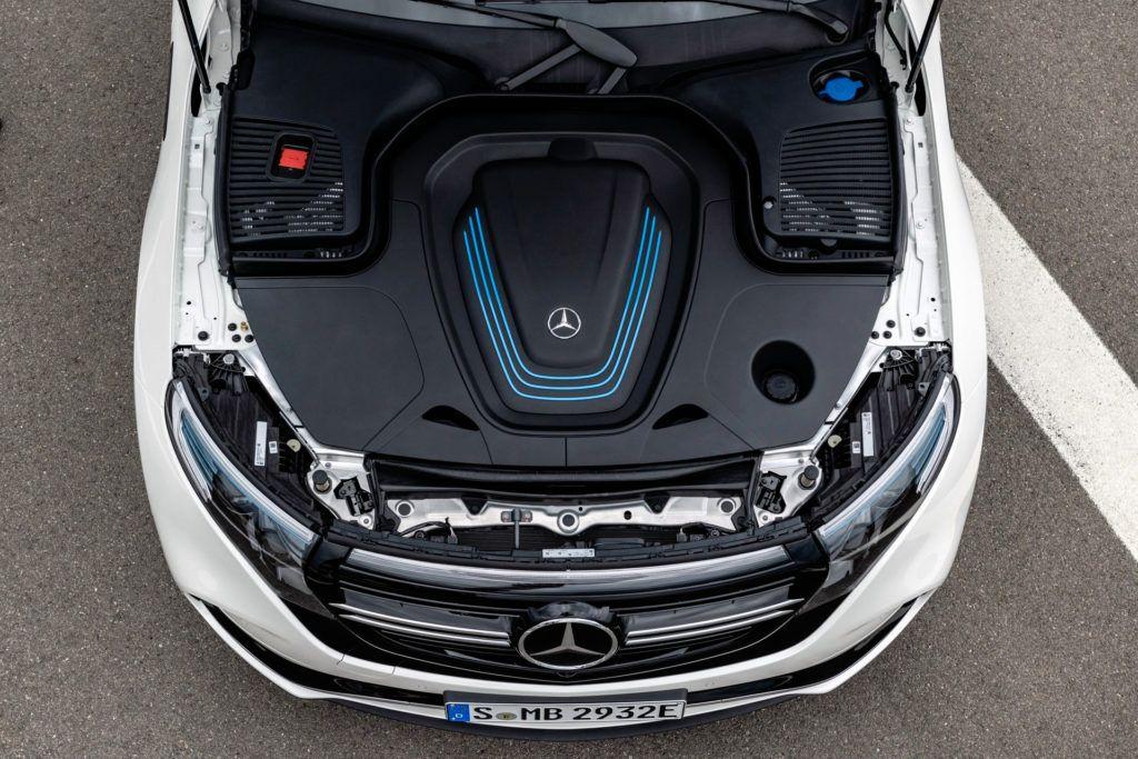 Mercedes EQC - silnik