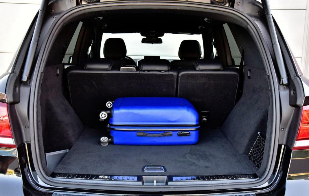 Mercedes GLE - bagażnik