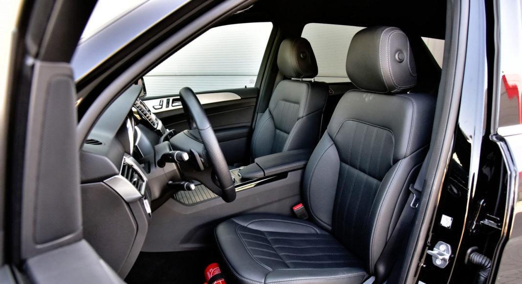 Mercedes GLE - fotel kierowcy