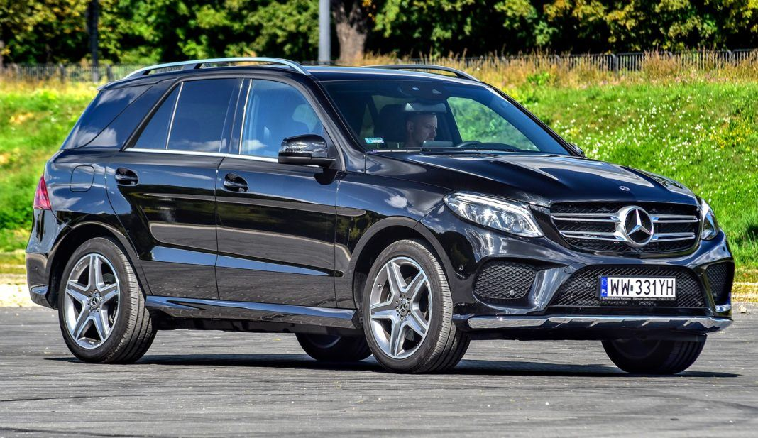 Mercedes GLE - przód