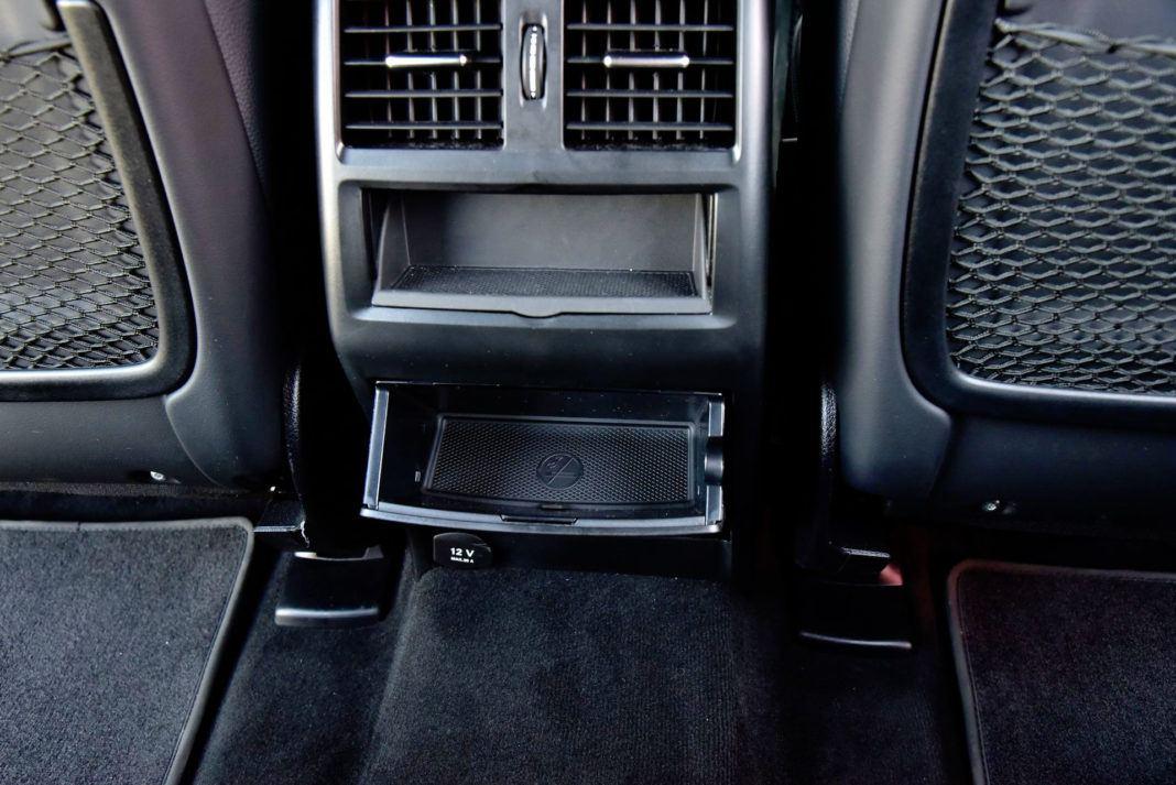Mercedes GLE - skrytki