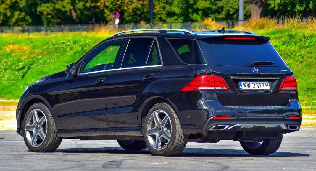 Mercedes GLE - tył