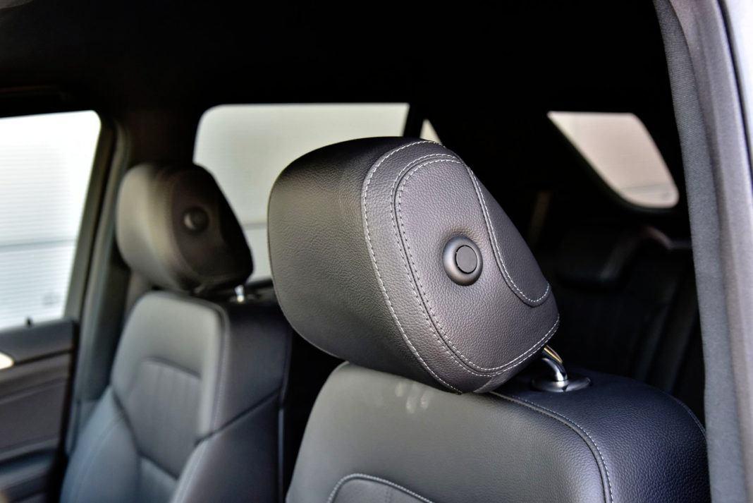 Mercedes GLE - zagłówki
