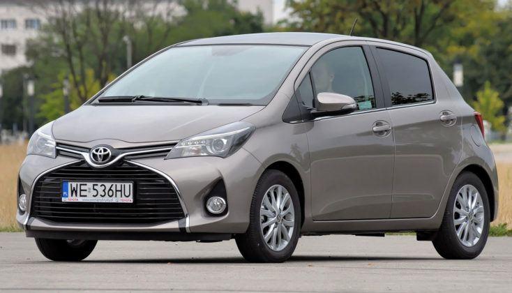 Auta miejskie: najlepszy - Toyota Yaris III