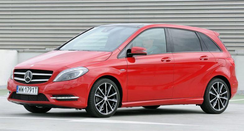 Minivany - Mercedes Klasy B