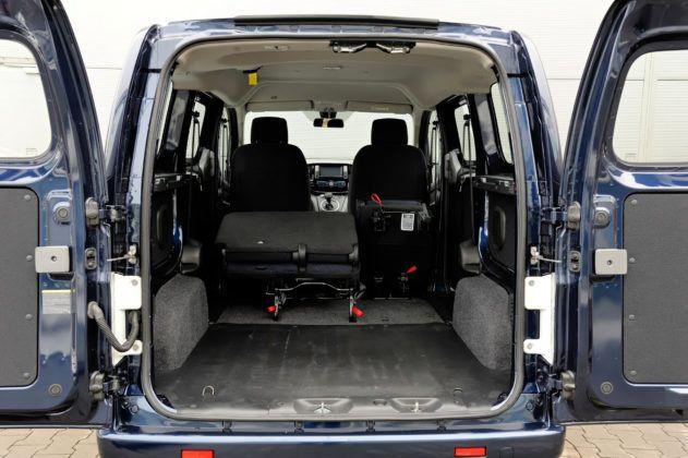 Nissan NV200 - przestrzeń ładunkowa