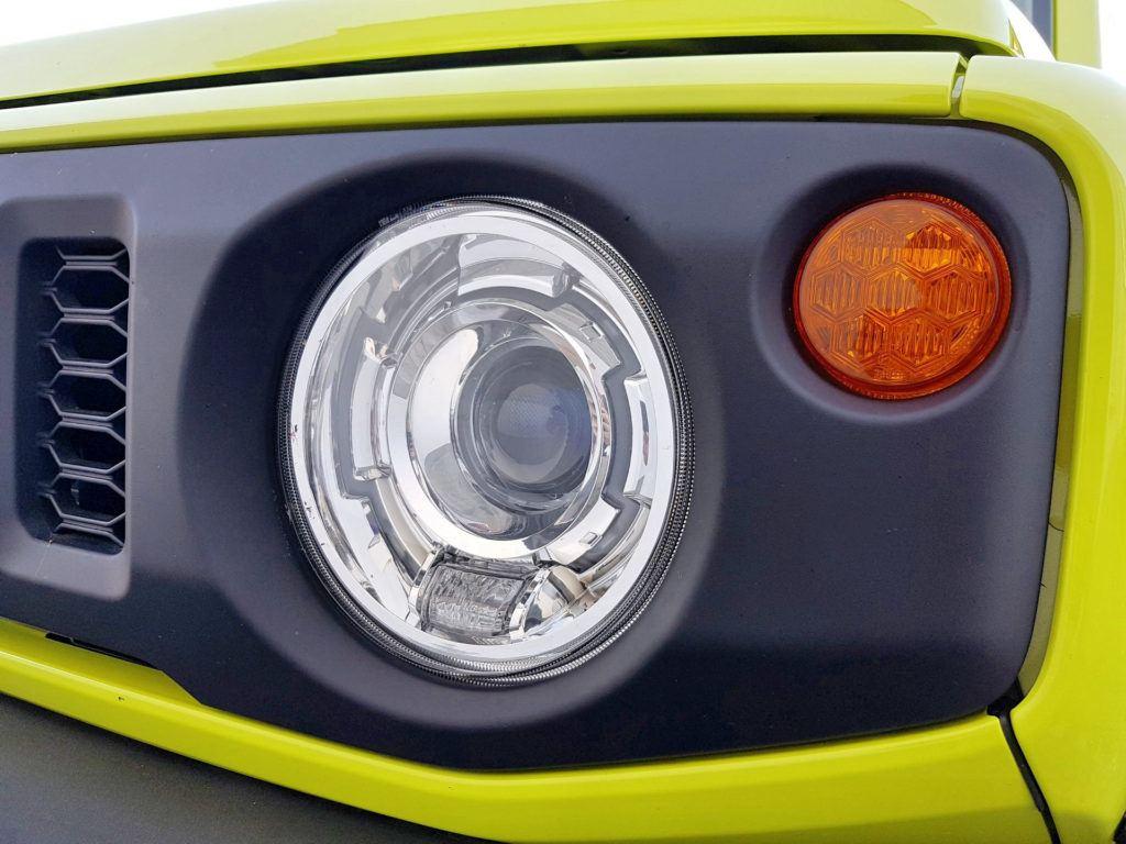 Nowe Suzuki Jimny - światła