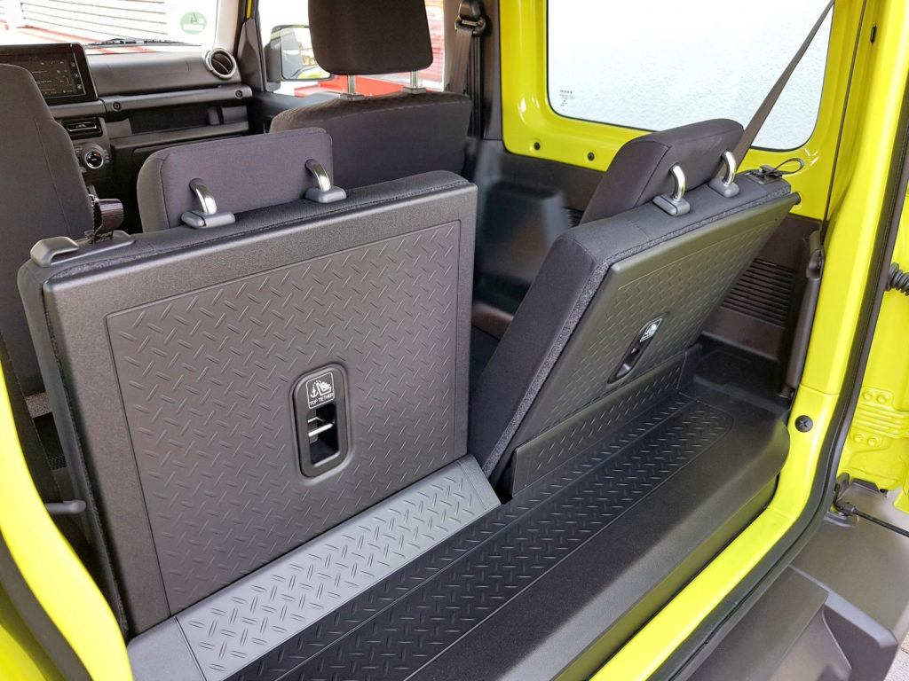 Nowe Suzuki Jimny - bagażnik