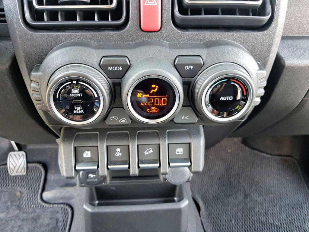 Nowe Suzuki Jimny - klimatyzacja