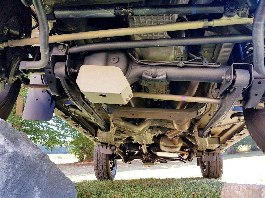 Nowe Suzuki Jimny - podwozie