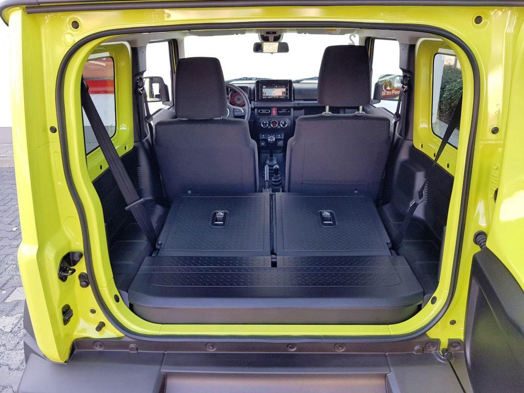 Nowe Suzuki Jimny - powiększony bagażnik