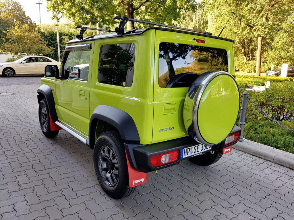Nowe Suzuki Jimny - tył