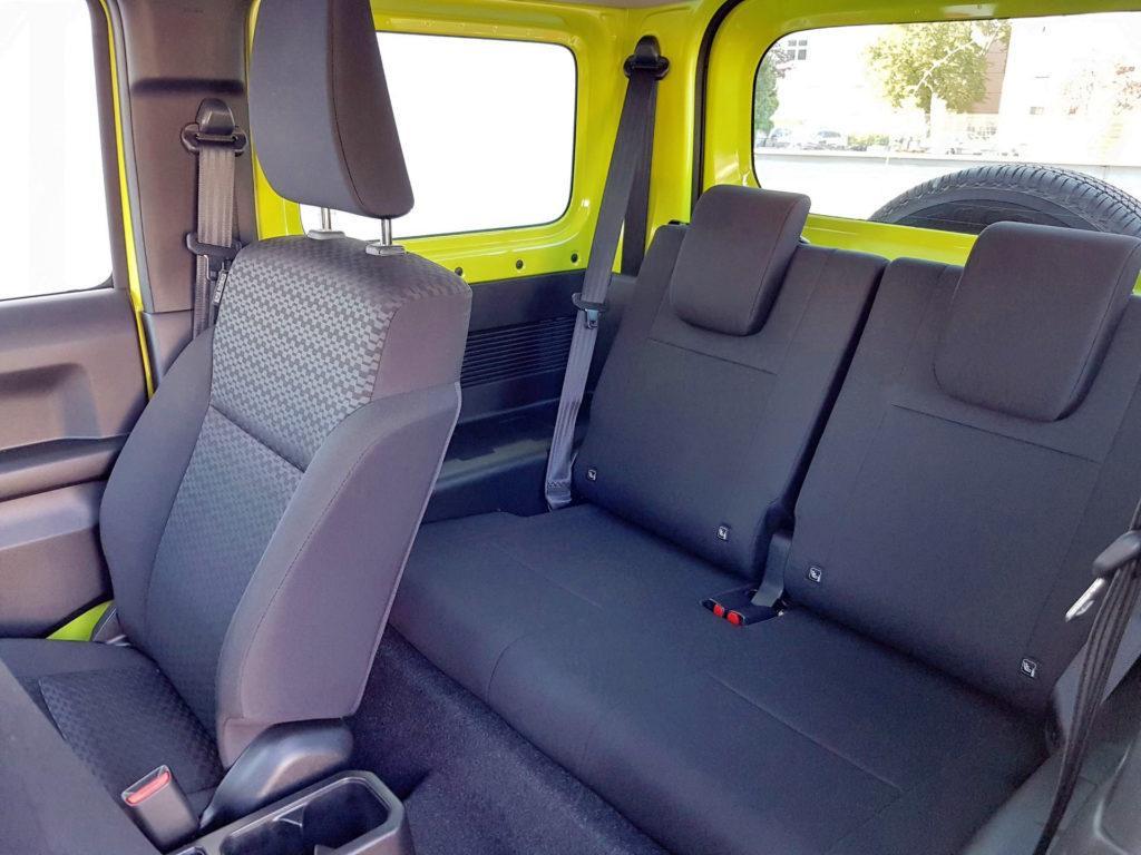 Nowe Suzuki Jimny - kanapa