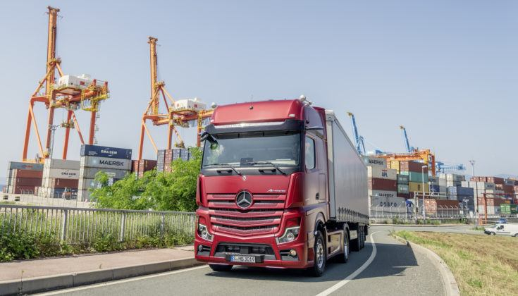Nowy Mercedes Actros