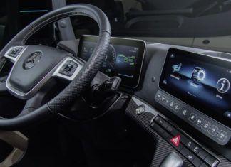 Nowy Mercedes Actros. Najbardziej multimedialna ciężarówka świata