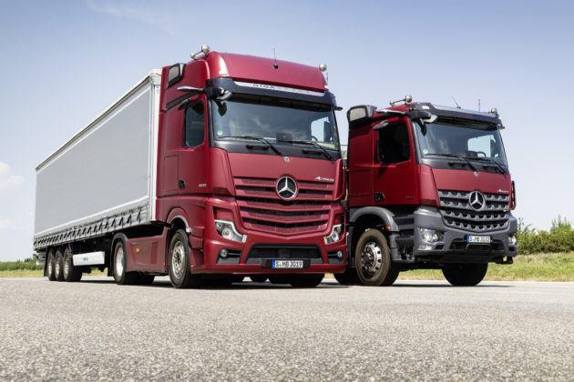 Nowy Mercedes Arocs i Actros
