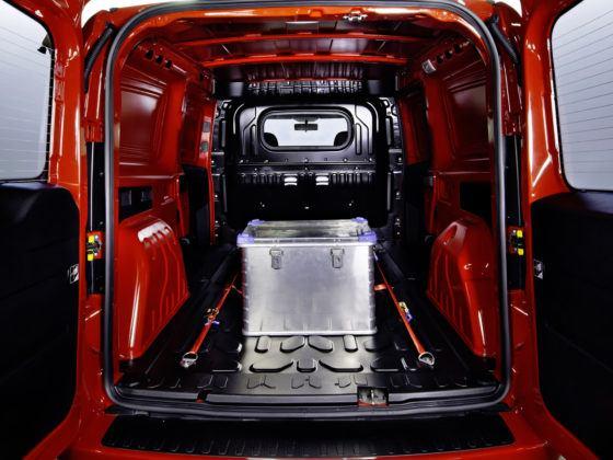 Opel Combo - przestrzeń ładunkowa