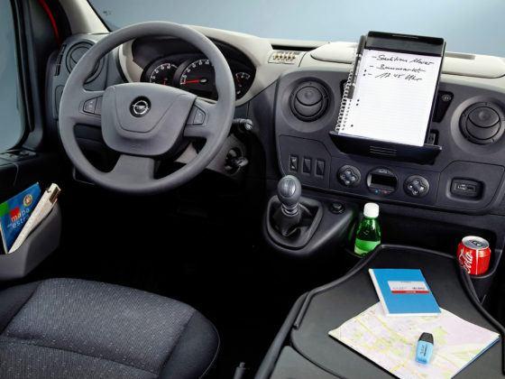 Opel Movano - desa rozdzielcza