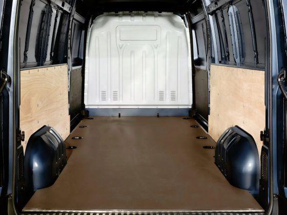 Opel Movano - przestrzeń ładunkowa