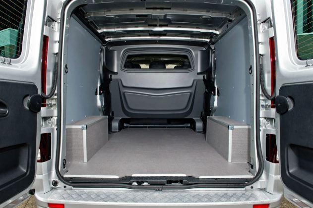 Opel Vivaro - przestrzeń ładunkowa
