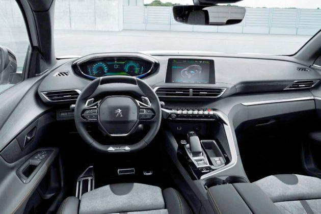 Peugeot 3008 Hybrid - deska rozdzielcza