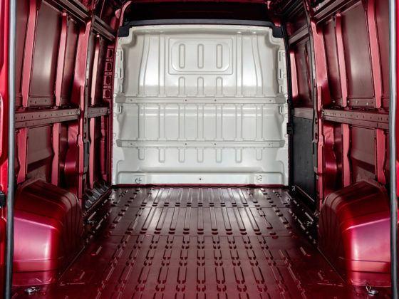 Peugeot Boxer - przestrzeń ładunkowa