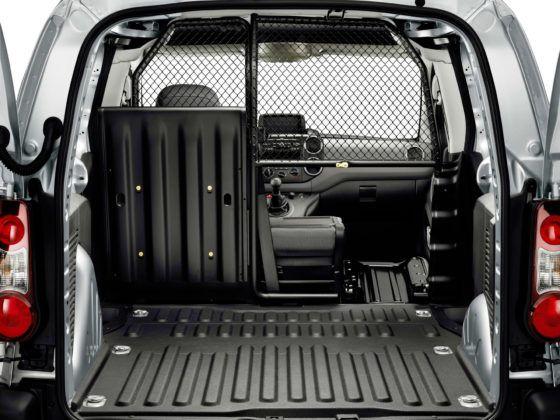 Peugeot Partner - przestrzeń ładunkowa