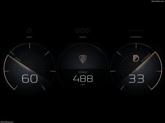 Peugeot e-Legend Concept (2018)