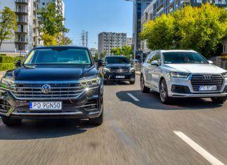 Luksusowe SUV-y: Audi Q7, Mercedes GLE, Volkswagen Touareg - PORÓWNANIE