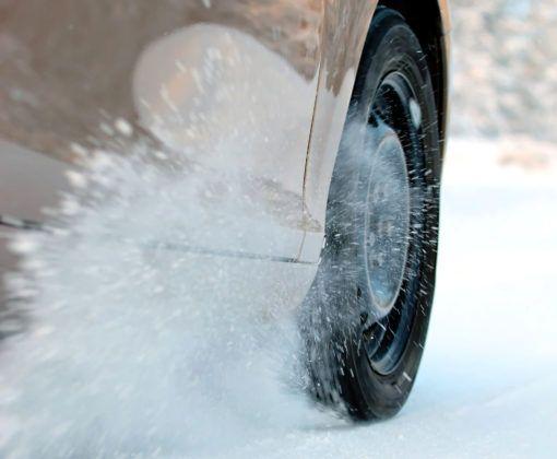 Przyspieszanie na śniegu