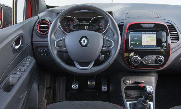 Renault Captur I deska rozdzielcza