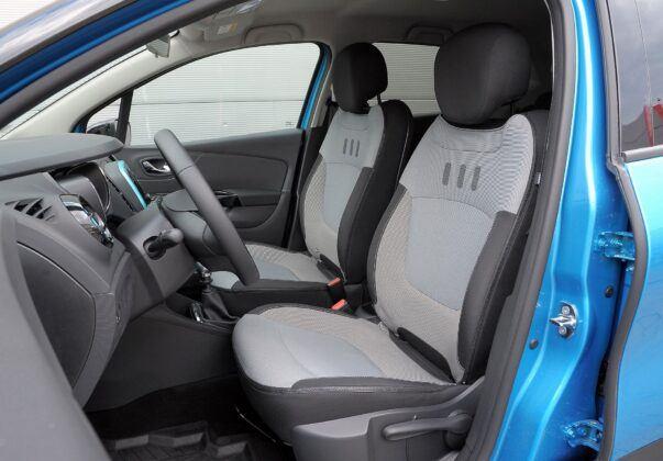 Renault Captur I fotel kierowcy