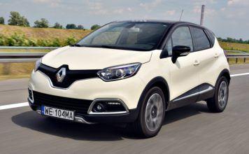 Renault Captur - dynamiczne