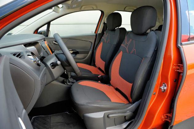 Renault Captur - fotel kierowcy