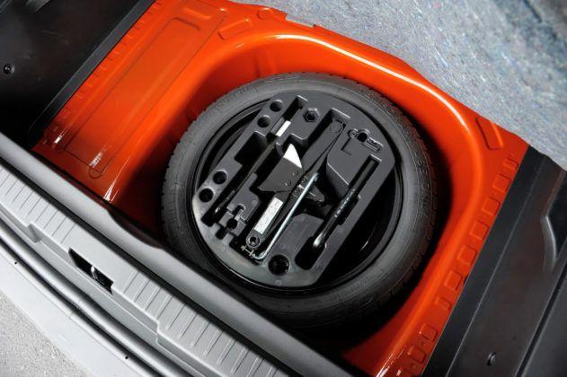 Renault Captur - koło zapasowe