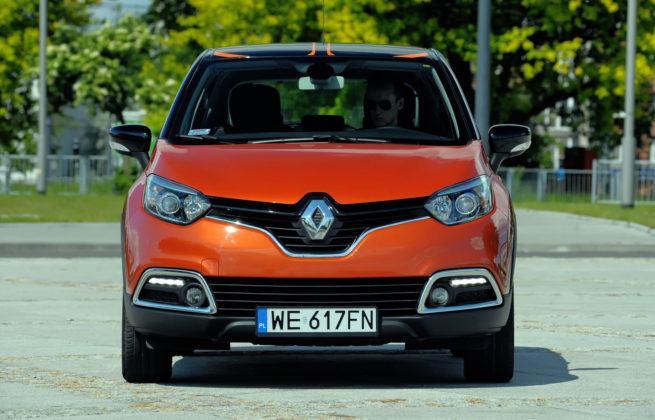 Renault Captur - przód