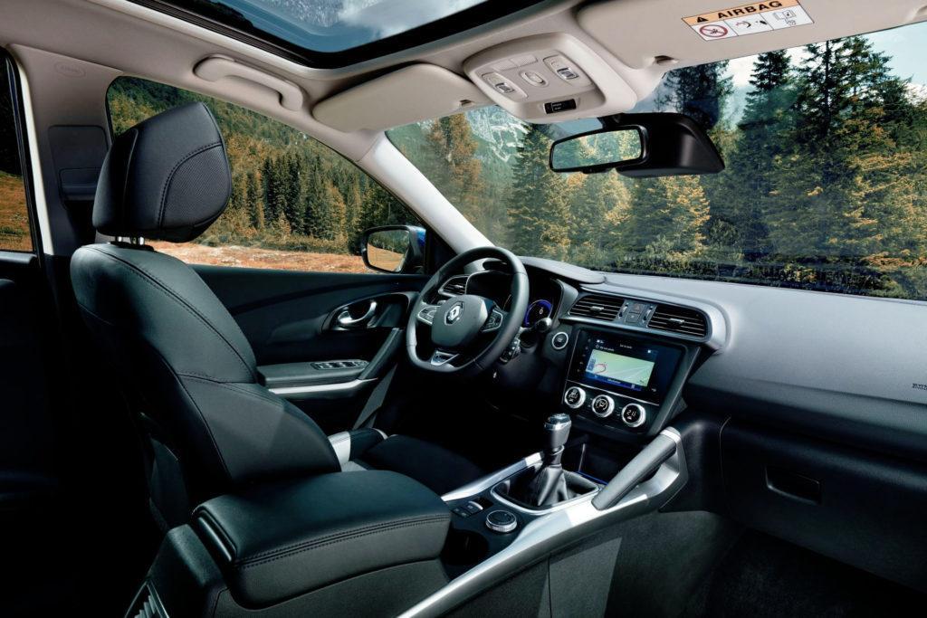 Renault Kadjar FL - deska rozdzielcza