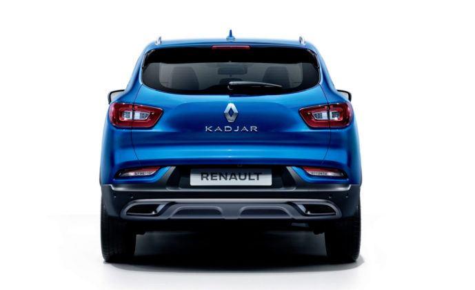 Renault Kadjar FL - tył