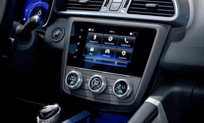 Renault Kadjar FL - wyświetlacz