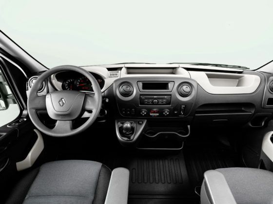 Renault Master - deska rozdzielcza