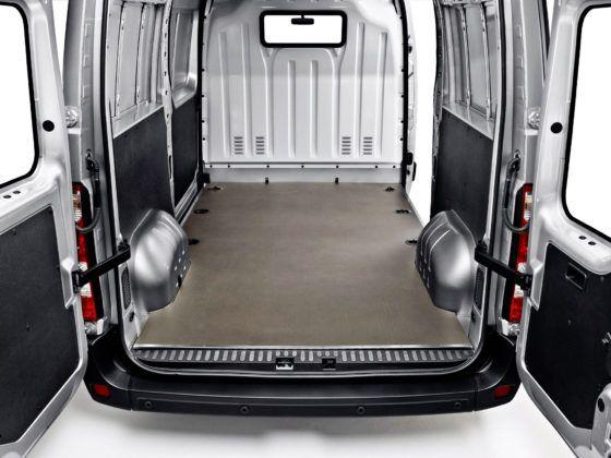 Renault Master - przestrzeń ładunkowa