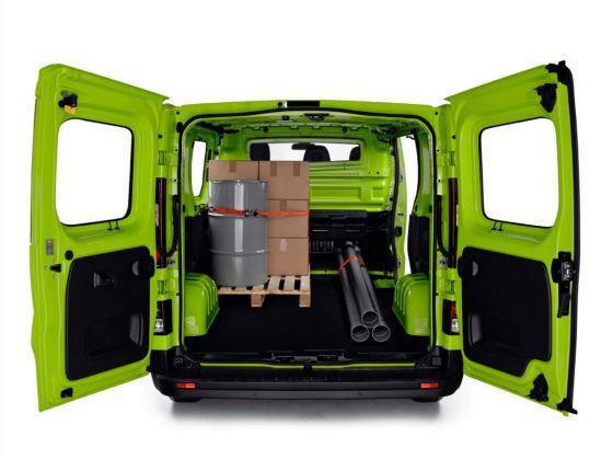 Renault Trafic - przestrzeń ładunkowa