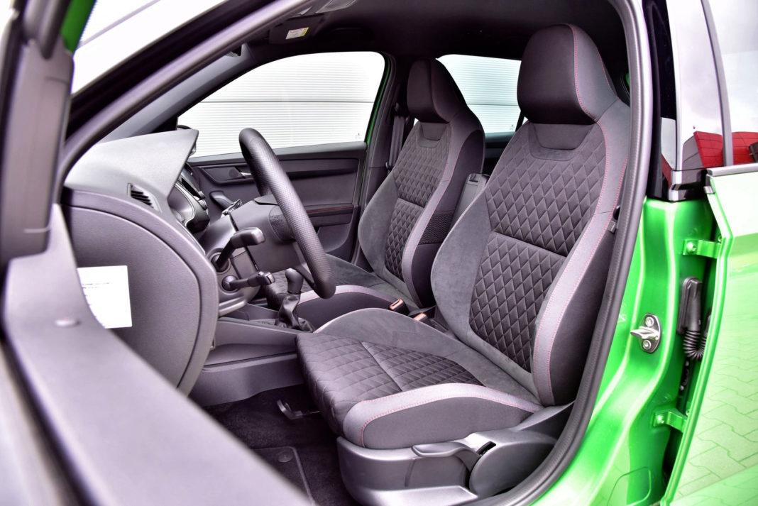 Skoda Fabia FL - fotel kierowcy