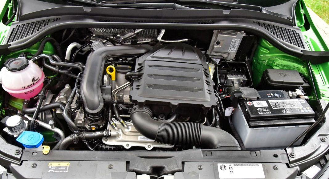 Skoda Fabia FL - silnik 1.0 TSI