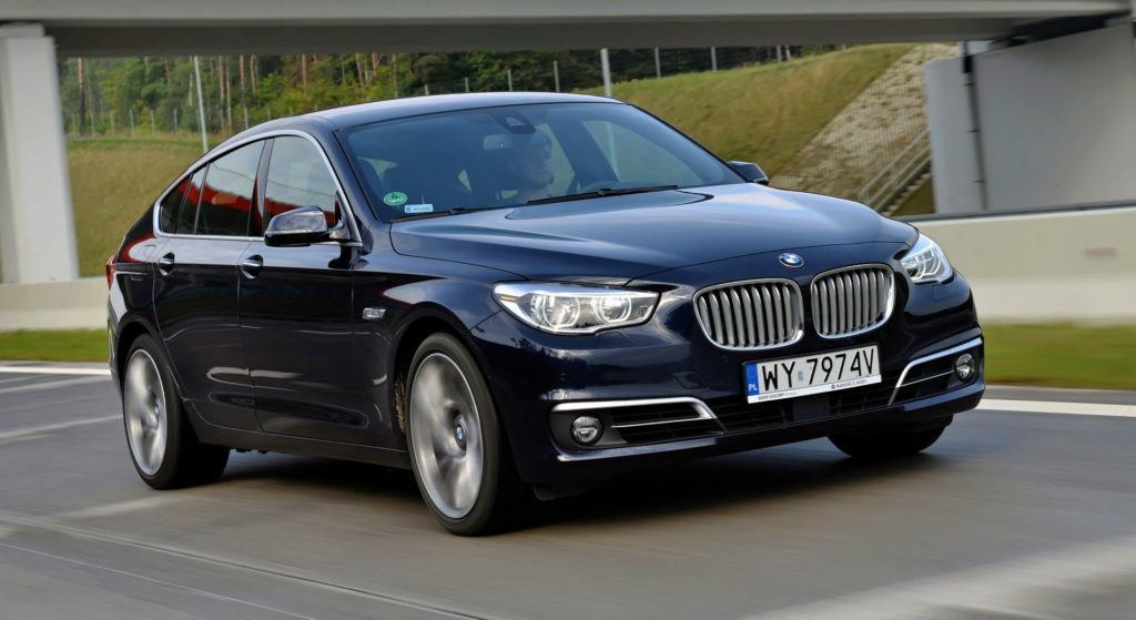 Spalanie na autostradzie - BMW serii 5