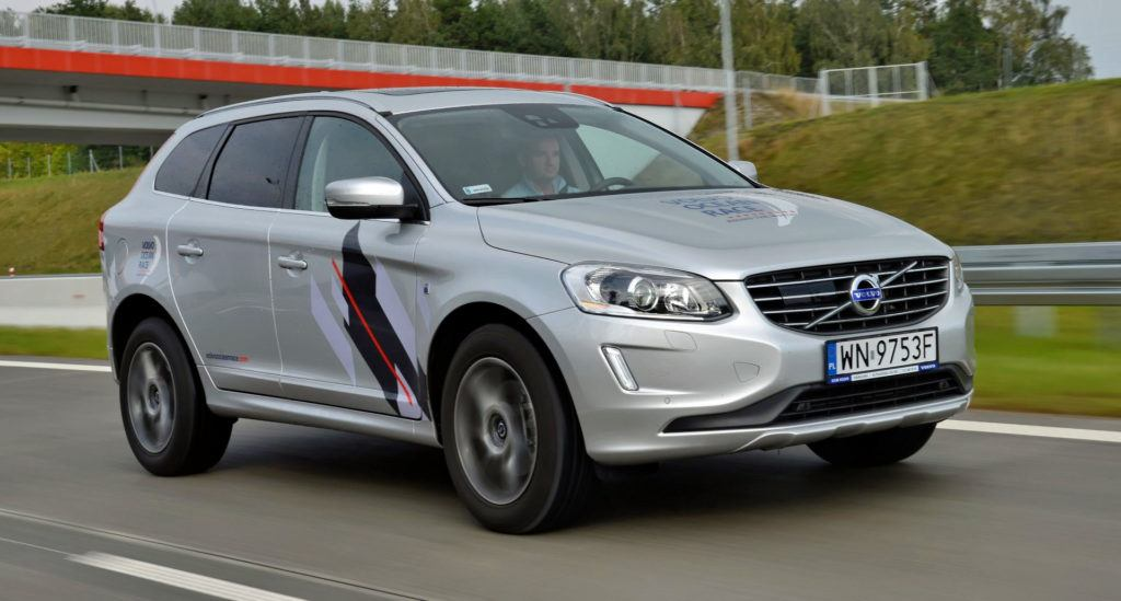 Spalanie na autostradzie - Volvo XC60